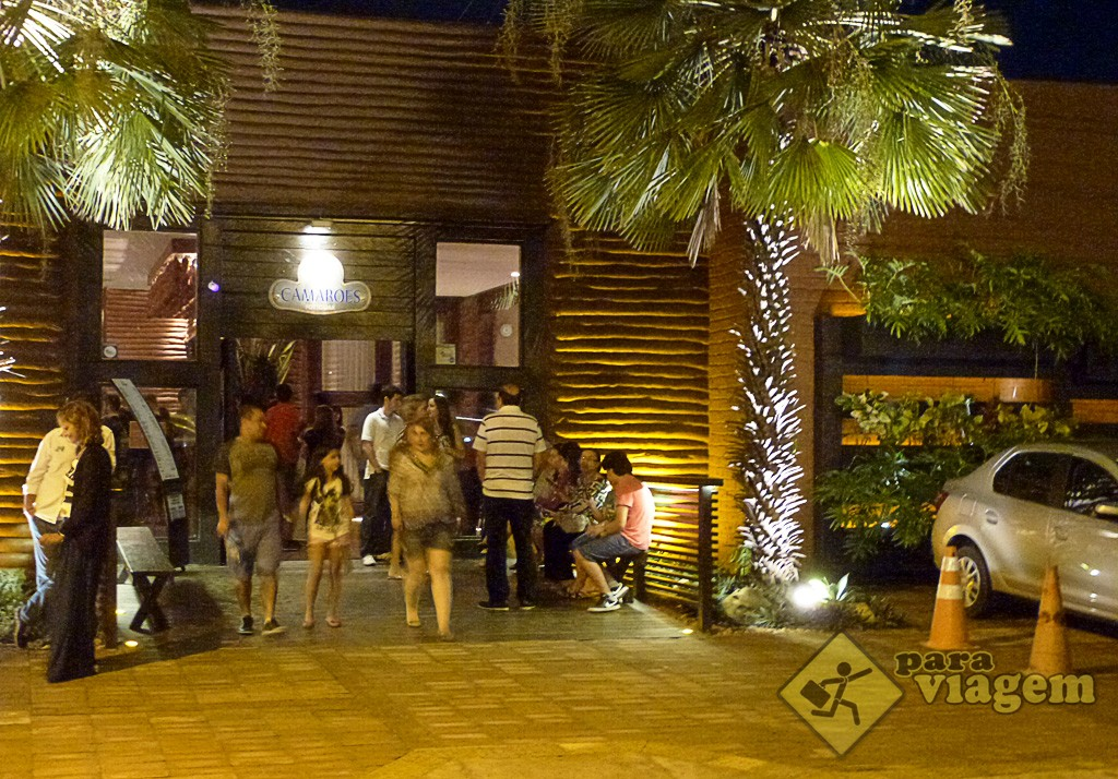 Entrada do Restaurante Camarões Potiguar