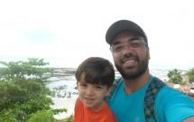 Eu com Felipe na Praia de Pipa/RN