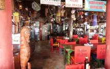 Interior do Restaurante Caxangá em Pipa