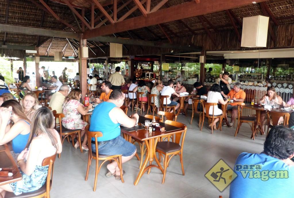 Interior do Restaurante Tábua de Carne