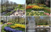 O belo parque Keukenhof