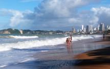 Praia com Crianças em Ponta Negra