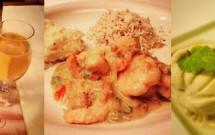 Jantar no Restaurante Camarões Potiguar