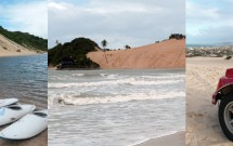 Lagoa de Jacumã, Praia e Dunas de Genipabú