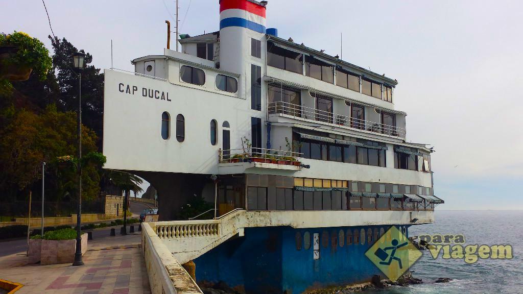 Hotel e Restaurante Cap Ducal em Viña del Mar