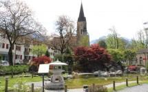 Kloster, Schloss e o jardim