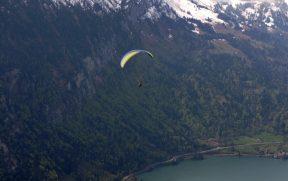 Vôo de parapente em Interlaken