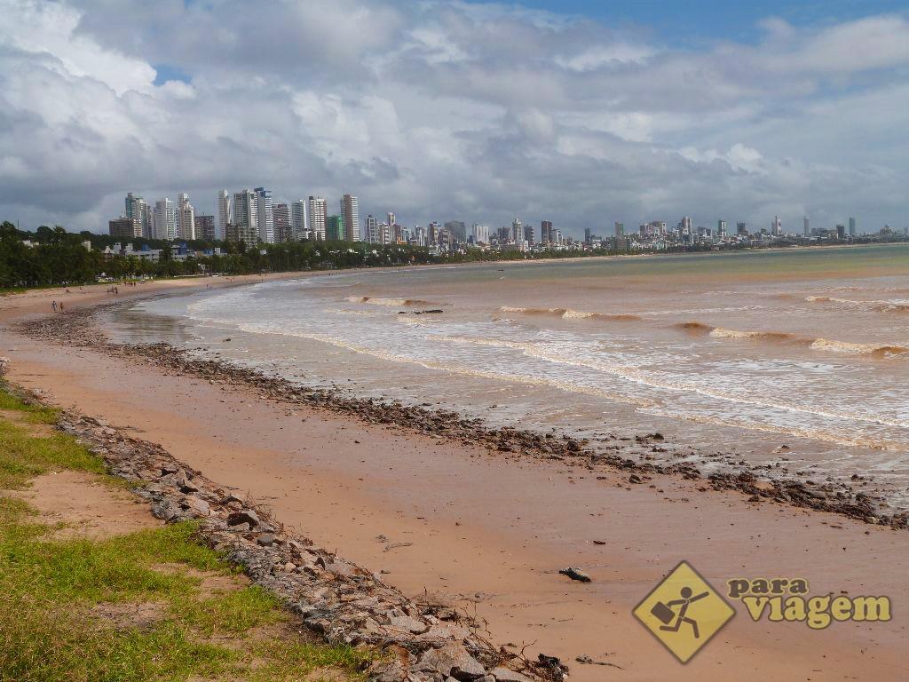 Praia de Cabo Branco em João Pessoa