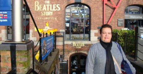 "Entrada do ""The Beatles Story"""