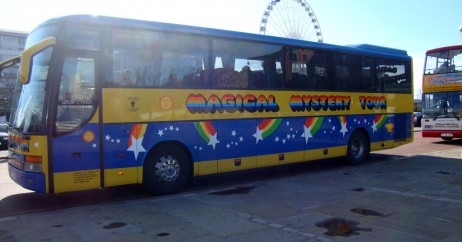 O ônibus do Magical Mystery Tour