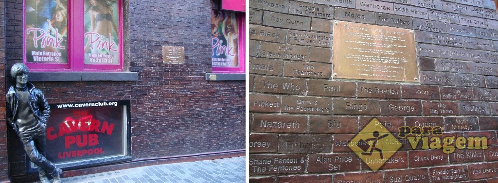 The Cavern Wall of Fame e a estátua criada por Arthur Dooley