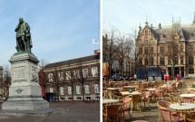 A praça Plein e o Tweed Kamer