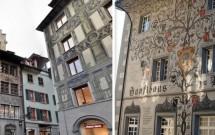 Outras belas fachadas decoradas de Lucerna