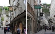 Getreidegasse: uma das ruas mais famosas de Salzburgo