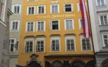 A casa onde Mozart nasceu