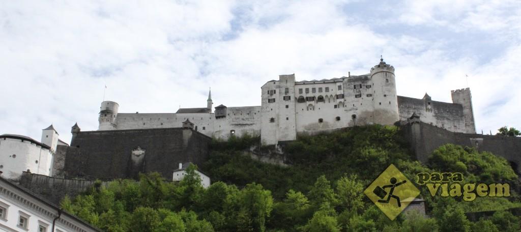 Festung Hohensalzburg – o Castelo de Salzburgo
