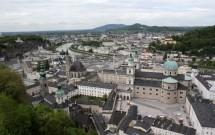 Vista aérea de Salzburgo