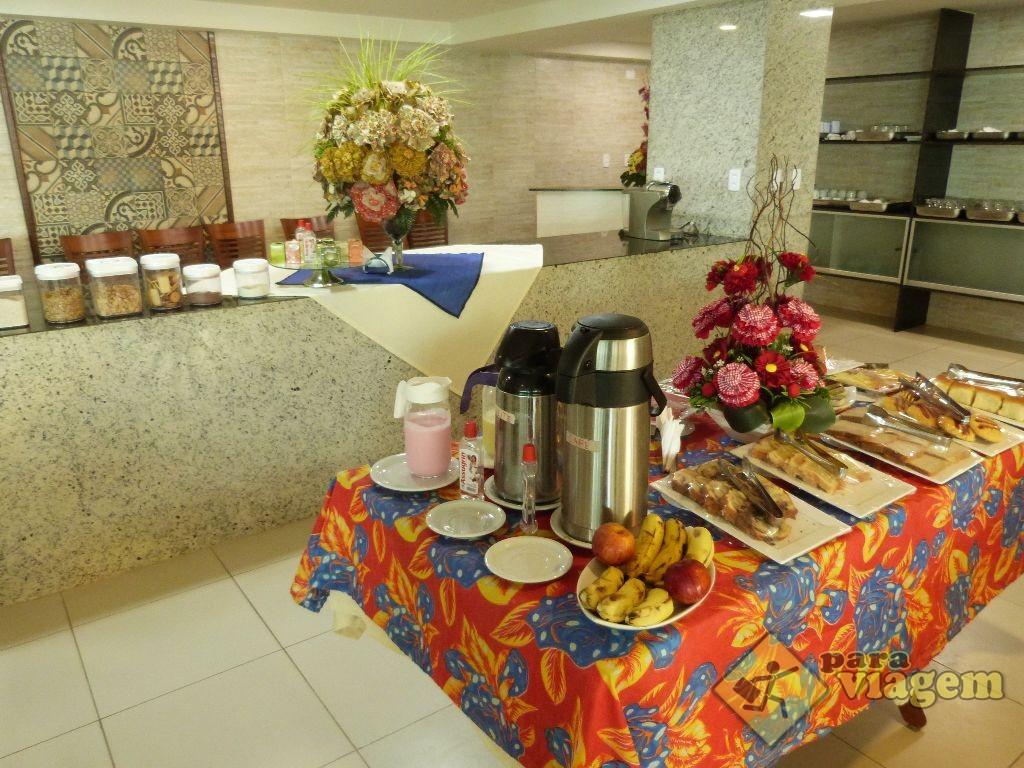 Café da Manhã no Luxxor Tabatinga