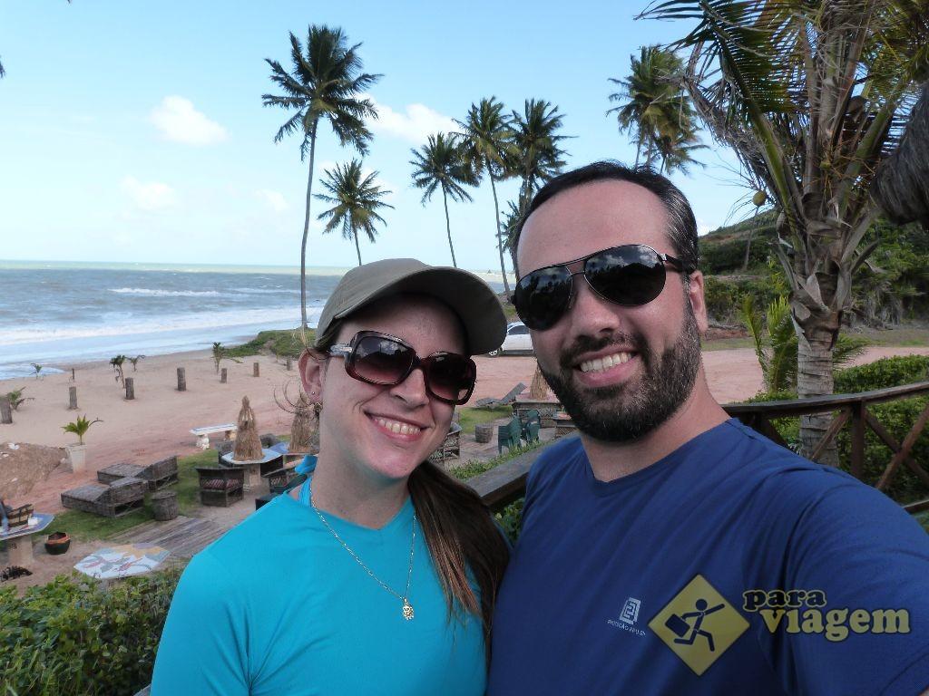Eu e Ela na Praia de Coqueirinho