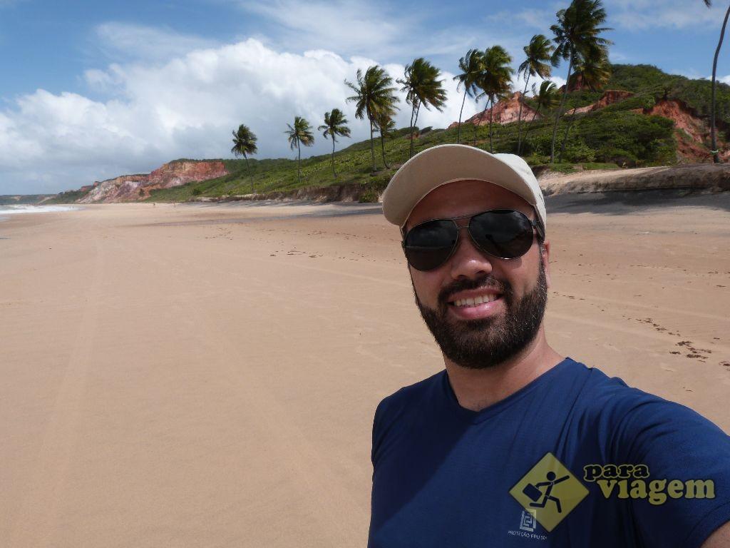 Selfie na Costa do Conde, Paraíba