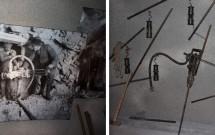 Alpine Sensation: as fotos da construção do Jungfraubahnen e as ferramentas utilizadas