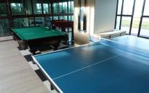 Ping Pong e Sinuca no Nord Luxxor Tabatinga