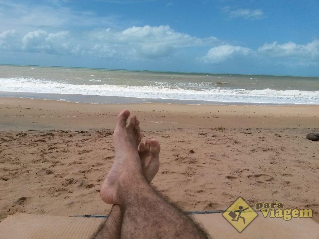 Relaxando na Praia de Coqueirinho