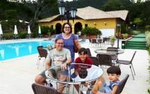 Avós e Netos no Haras Morena Resort
