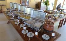 Buffet do Almoço no Haras Morena