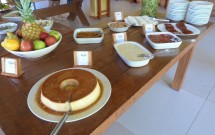 Sobremesas no Almoço do Haras Morena