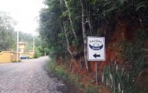 Placa do Haras Morena Resort
