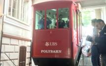"""Funicular """"Polybahn"""""""