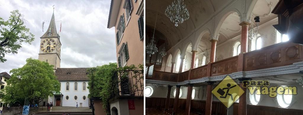St. Peterskirche em Zurique