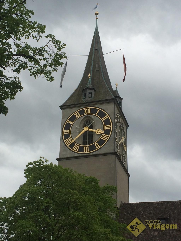 Maior relógio da Europa