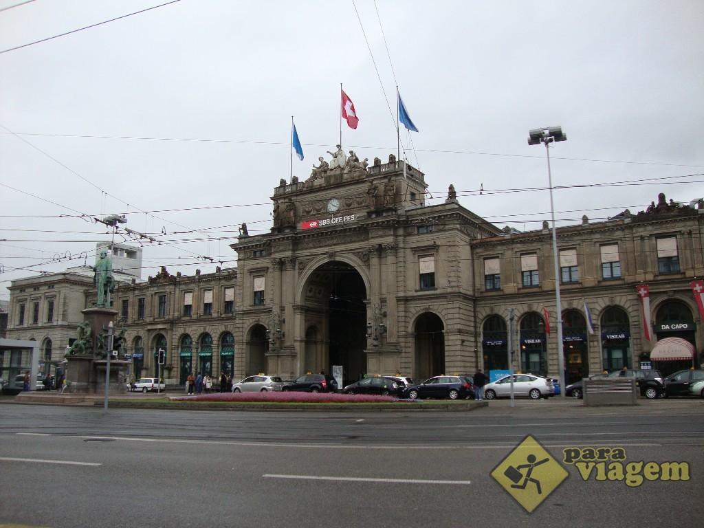 Estação Ferroviária de Zurique