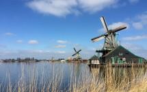 Zaanse Schans: Visitando Moinhos na Holanda