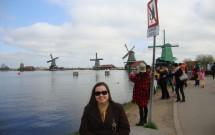 Os moinhos em Zaanse Schans