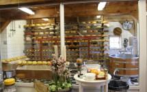 Fábrica de queijo holandês