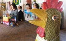 Bonecos Gigantes no Mercado da Ribeira em Olinda