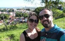 Casal no Alto da Sé em Olinda