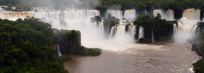 Vista das Cataratas do Iguaçu