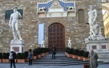 """""""Davi"""" e """"Hercules e Caco"""" na Piazza dela Signoria"""