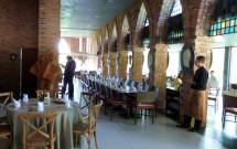 Interior do Restaurante Castelus