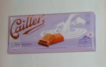 Chocolate ao leite Cailler. Maravilhoso!