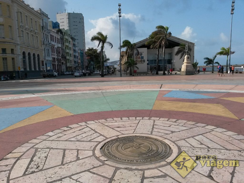 Adesivo De Azulejo Para Banheiro Pastilha ~ Praça do Marco Zero em Recife Para Viagem