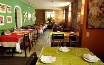 Interior do Restaurante Oficina do Sabor