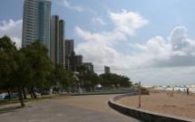 Orla da Praia de Boa Viagem em Recife