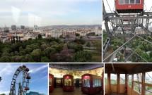 Wiener Riesenrad e a vista de Viena