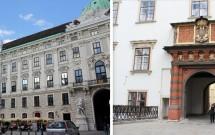 Pátio interno do Hofburg