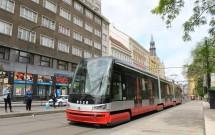 Tram (bonde) de Praga